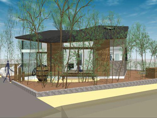 雑木林と8つの家モデルプラン