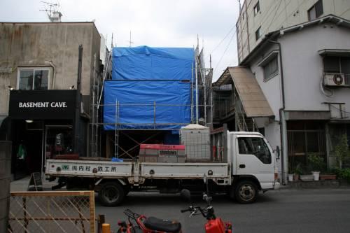 TKGA 建て方完了&階段設置