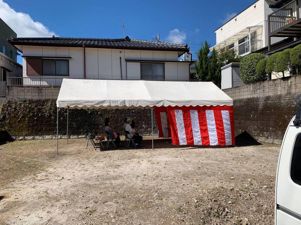 桜ヶ丘の家 地鎮祭