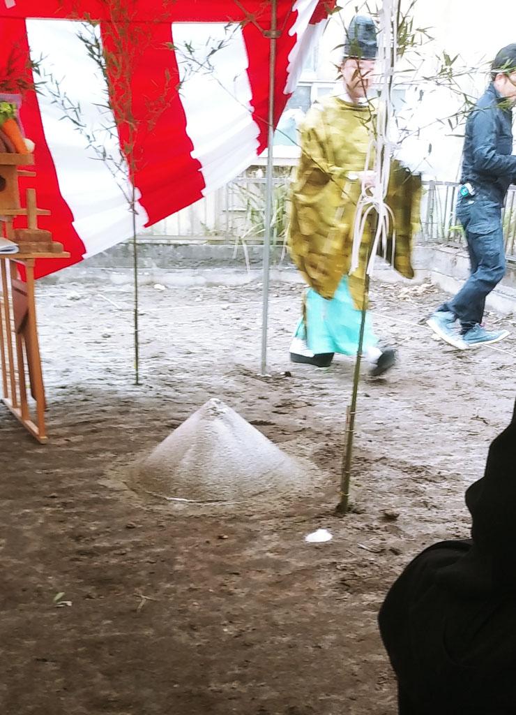 下竜尾町の家 地鎮祭