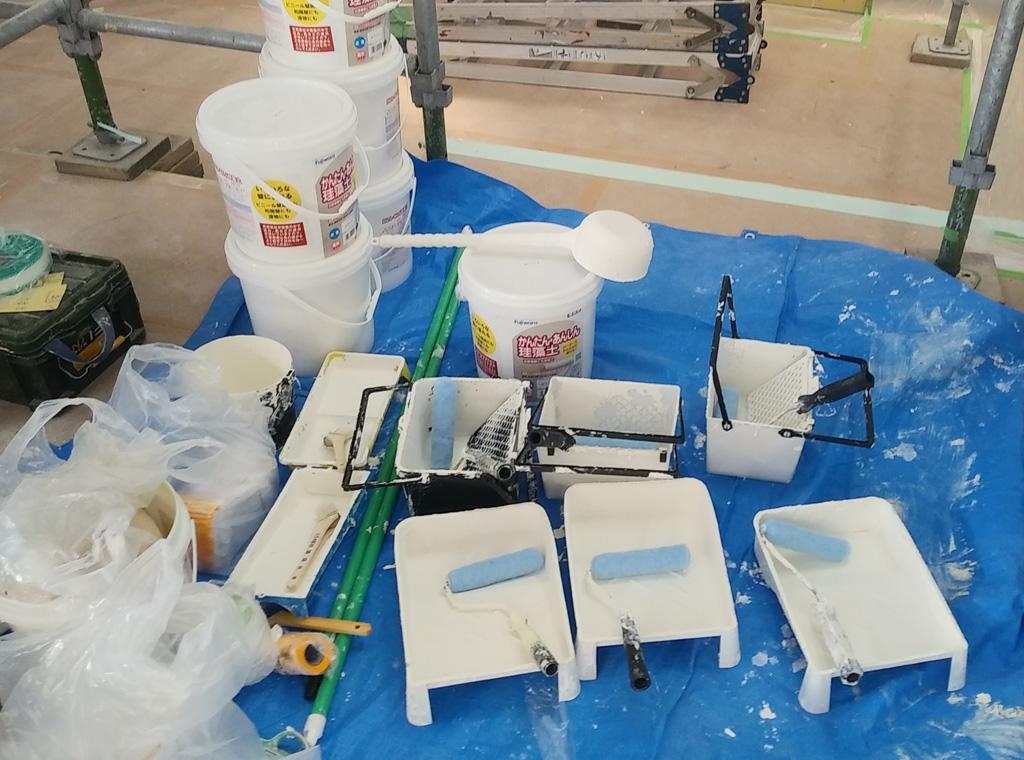 珪藻土DIY塗り